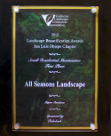 All Seasons Landscaping award 3