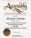 All Seasons Landscaping award 4